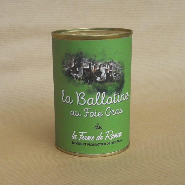 ballotine foie gras