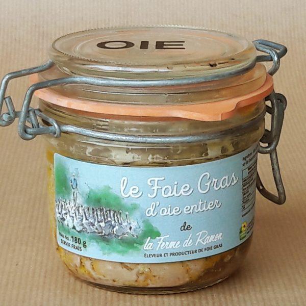 foie gras entier d'oie