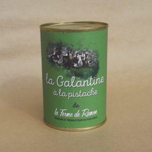 galantine à la pistache