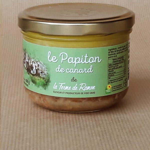 papiton de canard foie gras