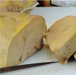 foie gras de canard mi cuit au torchon