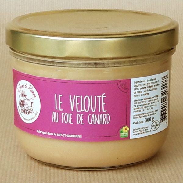 velouté au foie gras