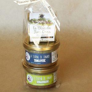 étuis coffret foie gras terrine